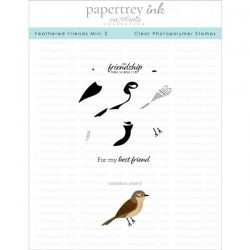 Papertrey Ink Feathered Friends Mini 2 Stamp Set