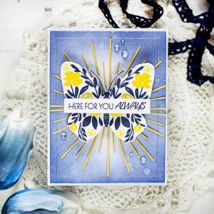 Papertrey Ink Graceful Wings Stamp Set class=
