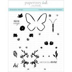 Papertrey Ink Graceful Wings Stamp Set
