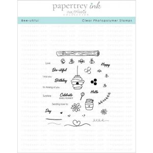 Papertrey Ink Bee-utiful Stamp Set