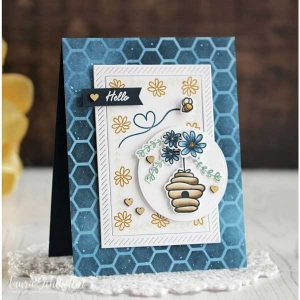 Papertrey Ink Bee-utiful Stamp Set class=