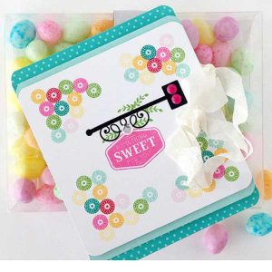 Papertrey Ink Sweet Shoppe Sentiments Mini Stamp Set class=