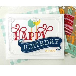 Papertrey Ink Paper Clippings: Birthday Stamp Set class=