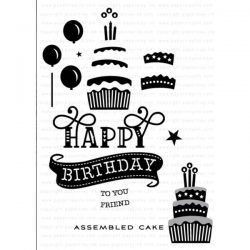 Papertrey Ink Paper Clippings: Happy Birthday Stamp Set