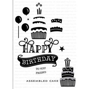 Papertrey Ink Paper Clippings: Birthday Stamp Set