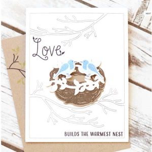 Papertrey Ink Nesting Stamp Set class=