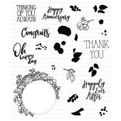 Papertrey Ink Circle Of Love Stamp Set