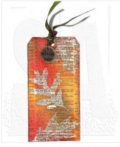 Stampers Anonymous Tim Holtz Falling Leaves Stamp Set class=