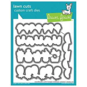 Lawn Fawn Simply Celebrate Summer Lawn Cuts
