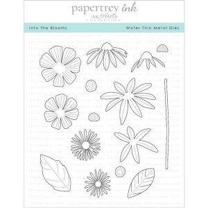 Papertrey Ink Into The Blooms Dies