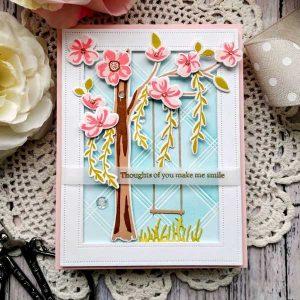 Papertrey Ink Floral Breeze Dies class=