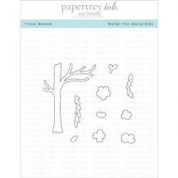 Papertrey Ink Floral Breeze Dies