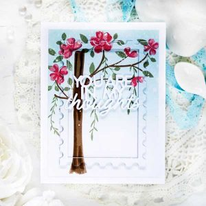Papertrey Ink Floral Breeze Accessories Dies class=
