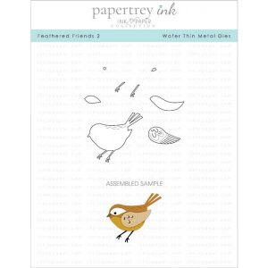 Papertrey Ink Feathered Friends 2 Dies