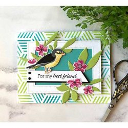 Papertrey Ink Feathered Friends Mini 2 Die