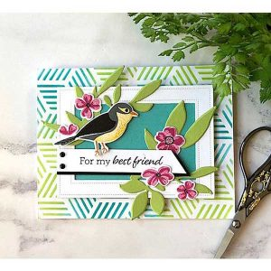 Papertrey Ink Feathered Friends Mini 2 Die class=