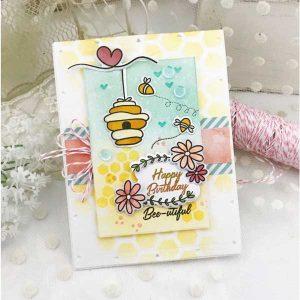 Papertrey Ink Bee-utiful Dies class=