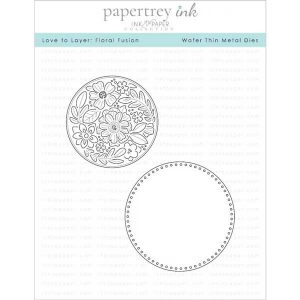 Papertrey Ink Love To Layer: Floral Fusion Dies