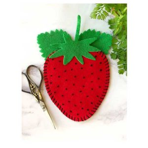 Papertrey Ink In Stitches: Strawberry Dies class=
