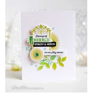 Papertrey Ink Twig Wreath Stamp Set class=