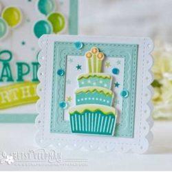 Papertrey Ink  Paper Clippings: Birthday Details Die