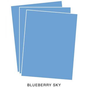 Papertrey Ink Blueberry Sky Cardstock