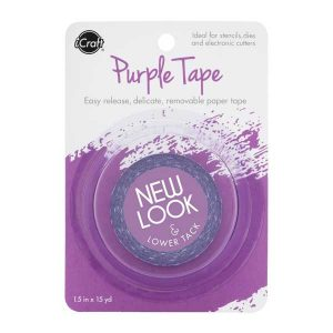 ICraft Purple Removable Tape