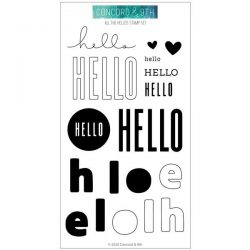 Concord & 9th All The Hellos Stamp Set