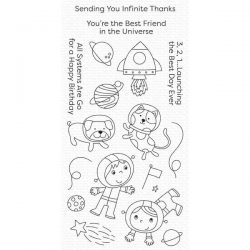 My Favorite Things Best Friends in the Universe Stamp Set
