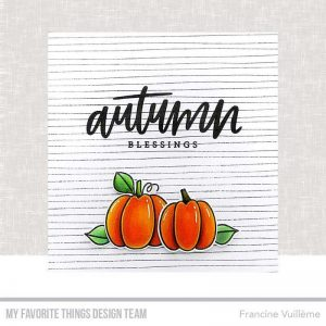 My Favorite Things Autumn Blessings Stamp Set class=