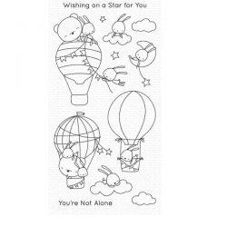 My Favorite Things Sky-High Friends Stamp Set