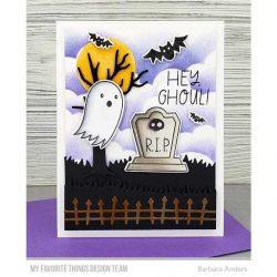 My Favorite Things Ghostly Greetings Stamp Set