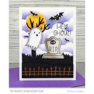 My Favorite Things Ghostly Greetings Stamp Set class=