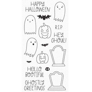 My Favorite Things Ghostly Greetings Stamp Set