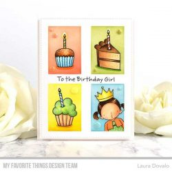 My Favorite Things Pure Innocence Birthday Girl Stamp