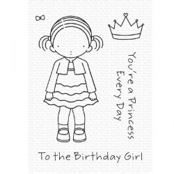 My Favorite Things Pure Innocence Birthday Girl (2020) Stamp