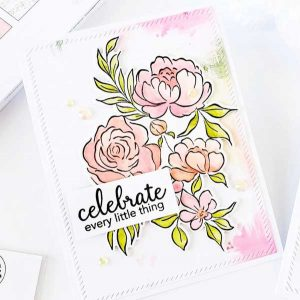 Pinkfresh Studio - Altenew Celebrate Today Stamp Set class=