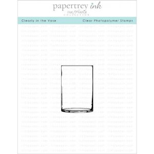 Papertrey Ink Clearly in the Vase Mini Stamp Set