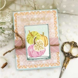 Papertrey Ink Clearly in the Vase Mini Stamp Set class=