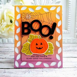 Papertrey Ink Hello Pumpkin stamp set class=
