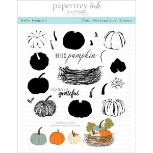 Papertrey Ink Hello Pumpkin stamp set