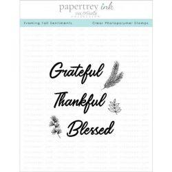 Papertrey Ink Framing Fall Sentiments Stamp Set