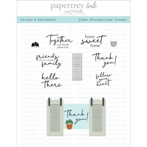 Papertrey Ink Shutter It Sentiments Stamp Set