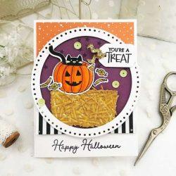 Papertrey Ink Scaredy Cat Stamp Set