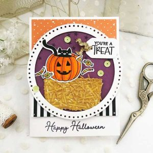 Papertrey Ink Scaredy Cat Stamp Set class=