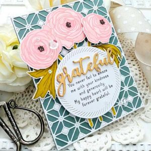 Papertrey Ink Inside Greetings: Grateful Mini Stamp Set class=