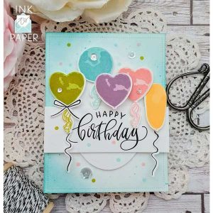 Ink To Paper Celebrating You stamp set class=