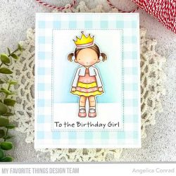 My Favorite Things Pure Innocence Birthday Girl Die-namics