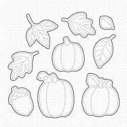 My Favorite Things Autumn Blessings Die-namics