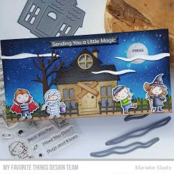 My Favorite Things Spooky Fence Die-namics